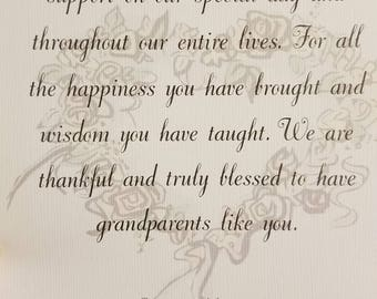 Grandparents thank you gift pdf