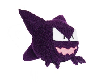 Haunter Pokemon  Cube Handmade Plush