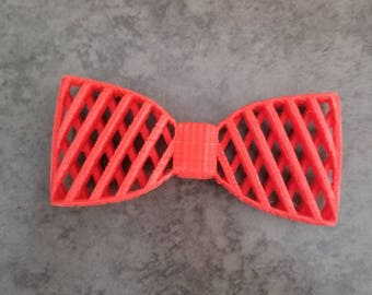 3D Printed Bow Tie - Red