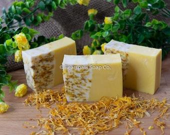 Yuzu Calendula Soap