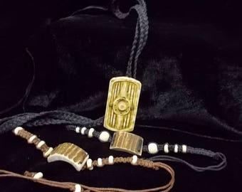 "Bracelet ""Horn of Maral"" For applying personal formulas and spells."