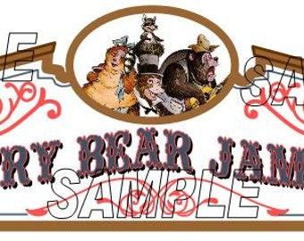 Disney World Magic Kingdom Country Bear Jamboree Sign Scrapbook Embellishment Paper Die Cut Piece