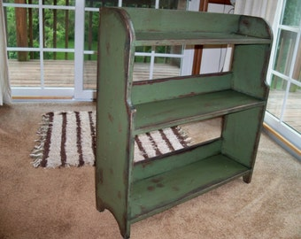 Owensburg Bookcase - Primitive Finish