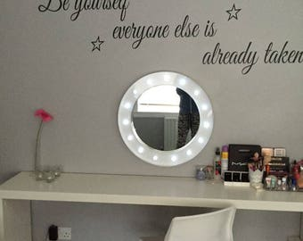 Be Yourself Everyone Else Is Already Taken Wall Decal, Gifts For Her, Teen Wall Art, Teen Girls Bedroom Decor. Inspirational Quotes, Humor