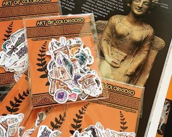 Persephone's magic stickers