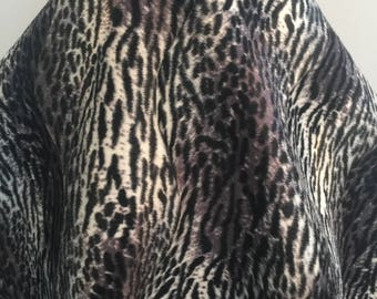 Jaguar Inspired Animal Faux Fur- Sold by the Yard