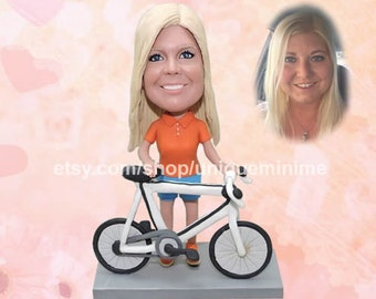 Unique Gift For Wife-Custom Bobblehead dolls For Wife-Unique Bobblehead dolls-Valentines Day-Unique Anniversary Gift For Wife-Christmas Gift