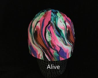 "Helmet Liner/Running Cap/Ski Cap  - ""Alive"""