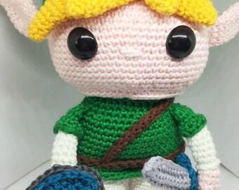Link from the Legend of Zelda crochet pattern English/Dutch