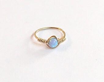 Tragus Earring Opal Tragus Earring Hoop, Tiny Tragus Hoop Gold Tragus Jewelry Opal Tragus Piercing Ring Gold Tragus Hoop Earring Tragus Ring