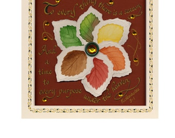 """5x7 Greeting Card """"To Everything There is a Season"""""""