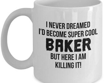 Baker Gift, Baker Mug, Gift For Baker, Funny Baker Gift, Baker Gift Idea, Personalized Baker, Funny Baker Mug, Baker, Baking Gift