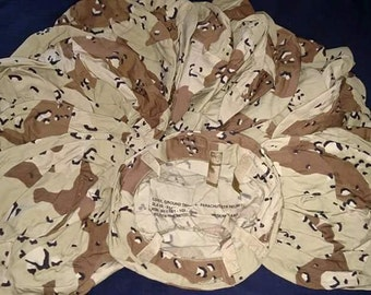 US Desert Storm camouflage kevlar helmet cover, Medium - Large 1991
