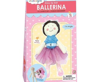My Studio Girl: Dress-Up Doll Ballerina Angie Sew Kit