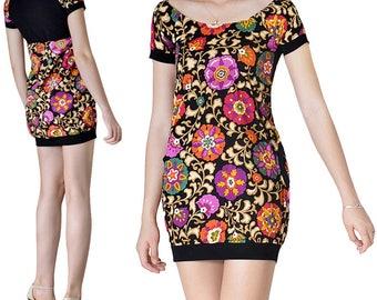 Bubble (M124) cotton tunic dress