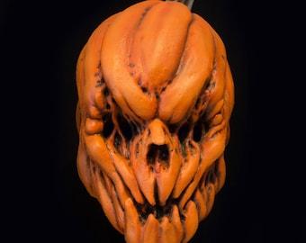Pumpkin mask, Halloween mask, Rotten Jack, pumpkin, Scarecrow mask