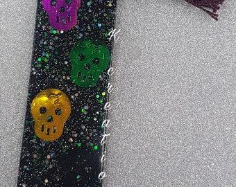 Skull bookmark