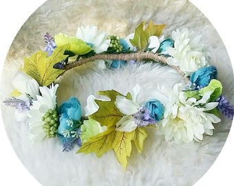SPRING TIME Flower Crown