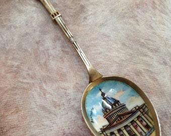 Vintage souvenir Paris spoon