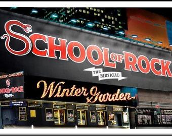 SCHOOL OF ROCK at the Winter Garden Theatre