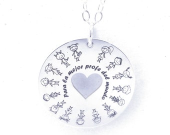 Bölbo® Profe necklace - Silver Donut