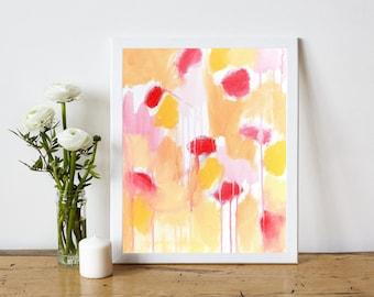 Abstract Art Printable - Abstract Painting Printable - Abstract Art Print - Instant Download Print - Minimalist Art Print - 8x10 11x14