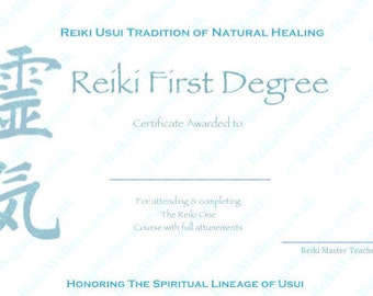 Download complete set reiki certificate templates x4 download complete set reiki certificate templates x4 landscape level 1 level 2 yelopaper Image collections