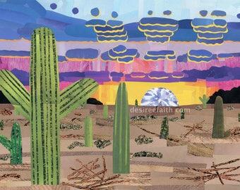 Desert Rays Magazine Collage