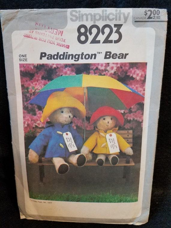 1977 Simplicity Paddington Bear 8223