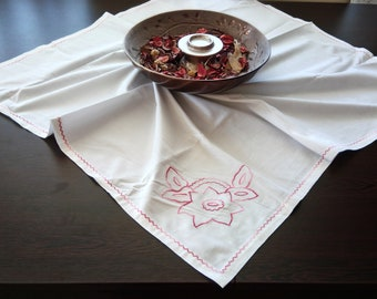 Hand made embroidered table cloth
