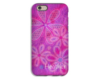 iPhone 8 case, watercolor flowers iPhone 8 Plus case, iPhone 7/7 Plus case, 6s/6s plus case, iPhone X case, iPhone 6 Plus case/6 case