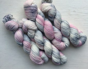 Winter Peony - Hand Dyed Yarn *DYED TO ORDER*