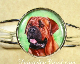 Mastiff Bracelet, Mastiff Jewelry, Mastiff Cuff, Mastiff Gifts, Mastiff Mom Gifts, Gifts with Mastiff, Mastiff Bridal, Mastiff Wedding
