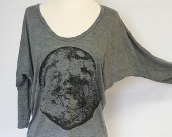 Black Moon slouchy long sleeved top