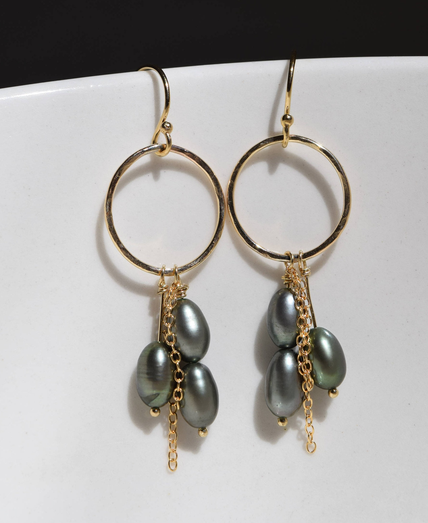 earring pearl green jewelry dangle shop img bliss freshwater faceted pearls earrings accessories pure