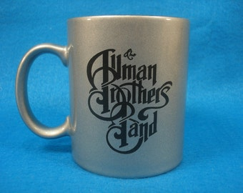ALLMAN BROTHERS BAND coffee mug - Great Christmas gift! Any fan of the Allman Brothers will love this coffee mug!
