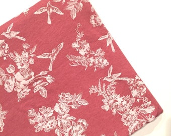 Little Birdie Floral Car Seat Cover • Nursing Cover • Multi-purpose Cover