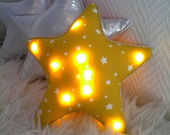 night light yellow star