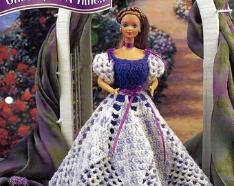 Once Upon a Time  Annies Fashion Doll Crochet Pattern Club FCC07-04