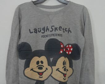 Vtg Mickey Mouse Sweatshirts