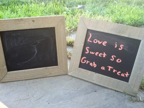 Colorful Small Framed Chalkboard Frieze - Picture Frame Design ...