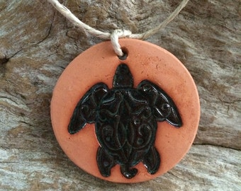 Sea Turtle Area Diffuser | Essential Oil Car Diffuser | Terracotta Diffuser Disc | Aromatherapy Stone