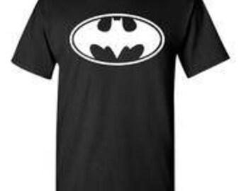 Batman Original Logo Black T-Shirt