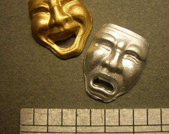 1:12th Dolls House Comedy and Tragedy Masks