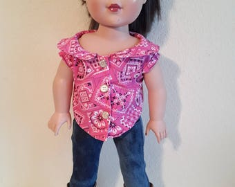 18 Inch Girl Doll Outfit #171