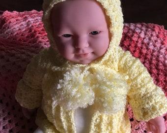 Sunny Yellow Infant Hoodie