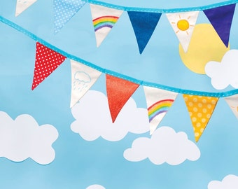 Rainbow Bunting Sewing Pattern Download 803104