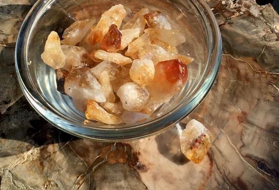 Small Citrine Crystal Points, Raw Citrine Point, Healing Crystals And Stones, Yellow Crystal, Solar Plexus Chakra Stone, Crystal Grid