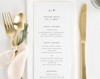 Aurora Dinner Menus - Deposit