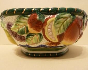 Fitz & Floyd China, Fruit Design Bowl